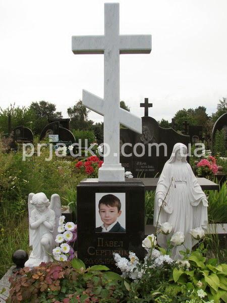 Памятники из гранита с крестом у ребенка ритуальные памятник цена услуги через
